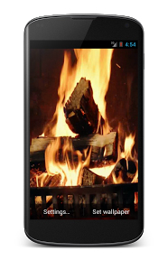 weihnachts-apps-kamin-live-wallpaper