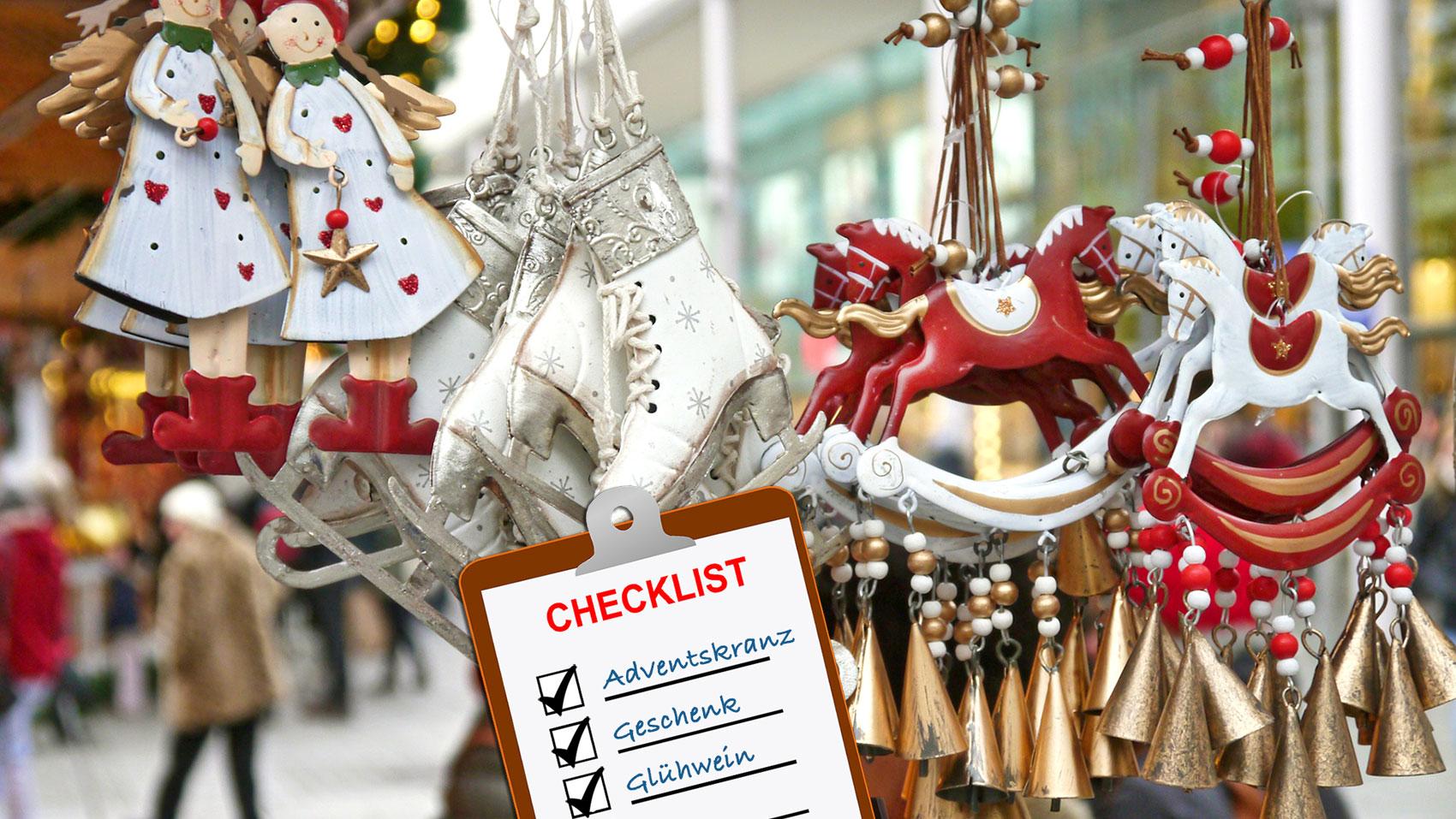 Alles an Bord? Die große Weihnachts-Checkliste