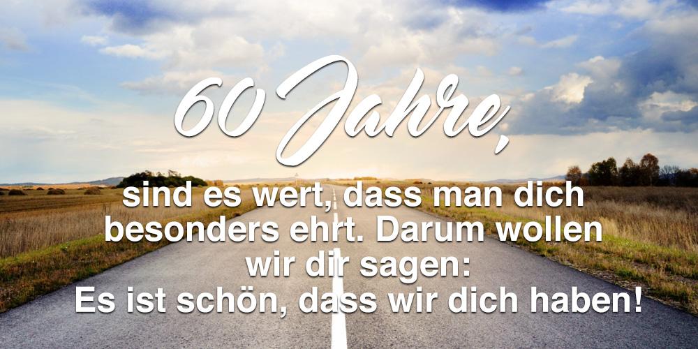 60 Geburtstag Spruche