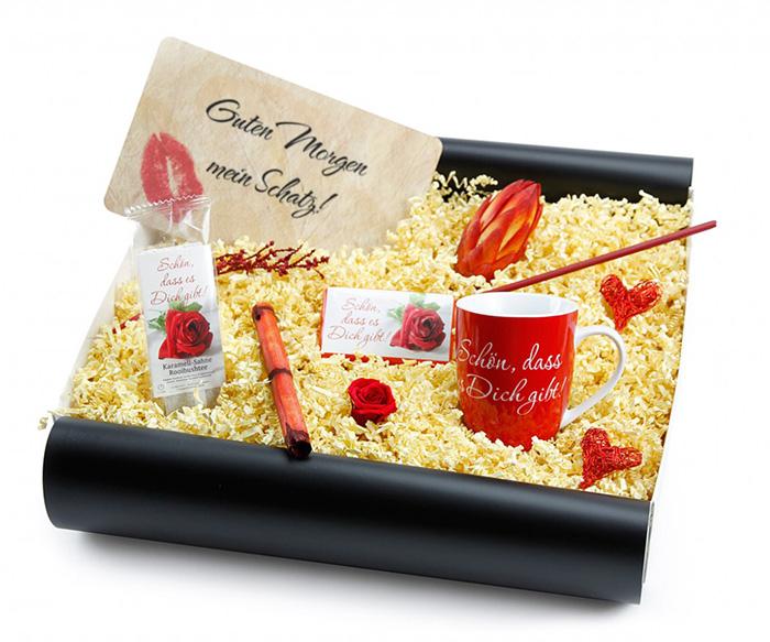 Liebesgeschenk - Geschenkset in hochwertiger Geschenkbox