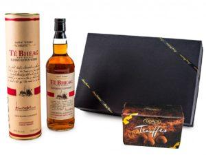 Schönes Weihnachtsgeschenk für Männer - mit Whisky und Trüffel-Schokolade
