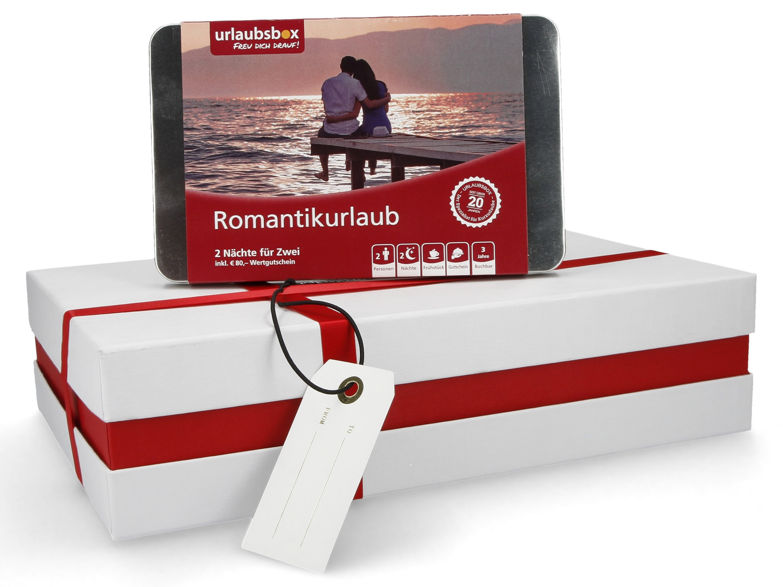 Liebesgeschenke - Hotelgutschein Kurztrip Urlaubsbox