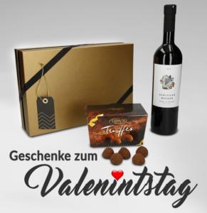 Romantische Valentinstagsgeschenke
