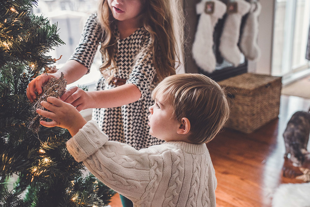 Wer früh weihnachtlich schmückt, ist glücklicher