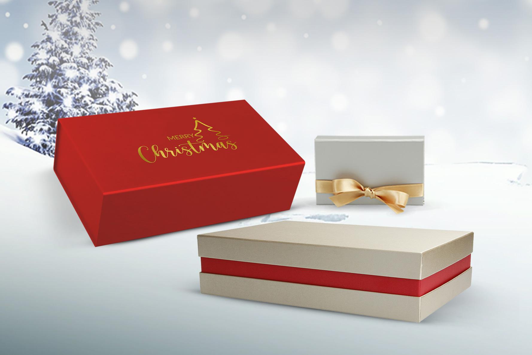 2 besondere Geschenkbox Ideen zu Weihnachten